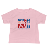 Normal is a Myth (Sign Icons) Baby Shirt