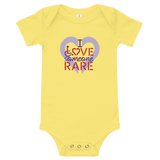 I Love Someone Rare (with a Rare Condition) Baby Onesie