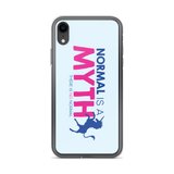 Normal is a Myth (Unicorn) iPhone Case