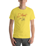 Different Does Not Equal Less (Original Clean Design) Adult Light Color Shirts