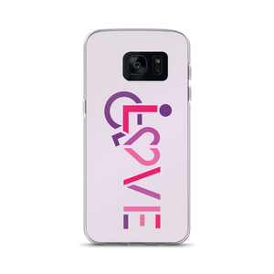 Samsung case showing love for the special needs community heart disability wheelchair diversity awareness acceptance disabilities inclusivity inclusion