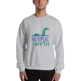sweatshirt normal is a myth loch ness monster lochness peer pressure popularity disability special needs awareness inclusivity acceptance activism