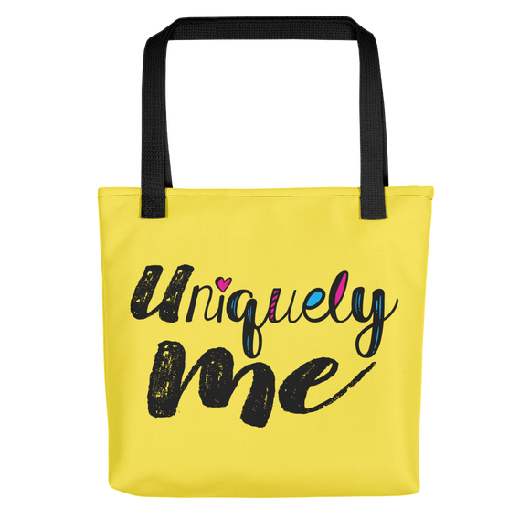 tote bag Uniquely me different one of a kind be yourself acceptance diversity inclusion inclusivity individual