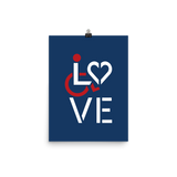 LOVE (for the Special Needs Community) Poster Stacked Design 1 of 3