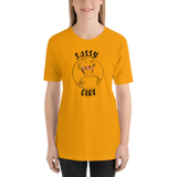 Sassy Girl (Esperanza - Raising Dion) Unisex Light Color Shirts - Design 01