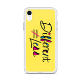 Different Does Not Equal Less (As Seen On Netflix's Raising Dion) Yellow iPhone Case