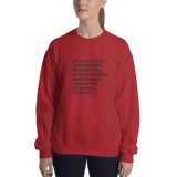 Bill Doesn't Give Parenting or Medical Advice (Special Needs Parent Sweatshirt)