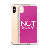 Not Invisible (Pink iPhone Case)