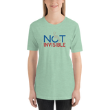 Not Invisible (Adult Light Color Shirts)