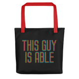 This Guy is Able (Men's Tote Bag)