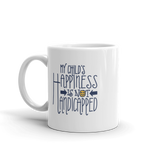 My Child's Happiness is Not Handicapped (Special Needs Parent Mug)