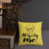 Uniquely Me (Esperanza - Raising Dion) Pillow