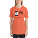 I Swipe Left on Pity (Unisex Shirt)