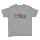 Normal is a Myth (Bigfoot, Mermaid, Unicorn) Youth Shirt