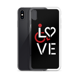 LOVE (for the Special Needs Community) iPhone Case Stacked Design 1 of 3