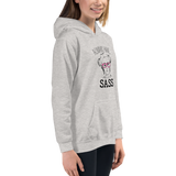 Always have Sass (Esperanza - Raising Dion) Kid's Hoodie