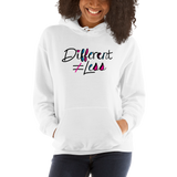 Different Does Not Equal Less (As Seen on Netflix's Raising Dion) Hoodie Light Colors