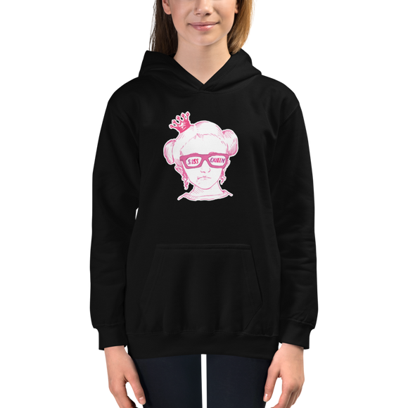 hoodie Sass Queen Fan Sammi Haney Esperanza Netflix Raising Dion sassy wheelchair pink glasses disability osteogenesis imperfecta