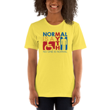 Normal is a Myth (Sign Icons) Unisex Shirt