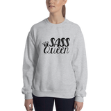 Sass Queen (Sweatshirt) Light Colors