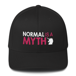 Normal is a Myth (Unicorn) Structured Twill Cap