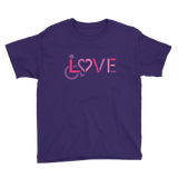 LOVE (for the Special Needs Community) Youth Shirt (All Colors)