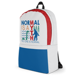 Normal is a Myth (Bigfoot & Loch Ness Monster) Backpack