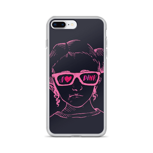 iPhone case I love Pink pink glasses love luv heart Raising Dion Esperanza fan Netflix Sammi Haney