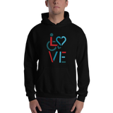 LOVE (for the Special Needs Community) Hoodie Stacked Design 3 of 3