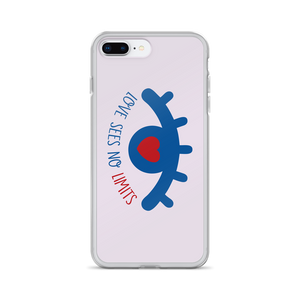 iPhone case love sees no limits luv heart eye disability special needs expectations future