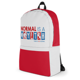 Normal is a Myth (Bigfoot, Mermaid, Unicorn) Backpack