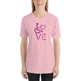 LOVE (for the Special Needs Community) Stacked Design 2 of 3