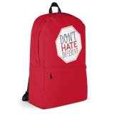 Don't Hate Different (Backpack)