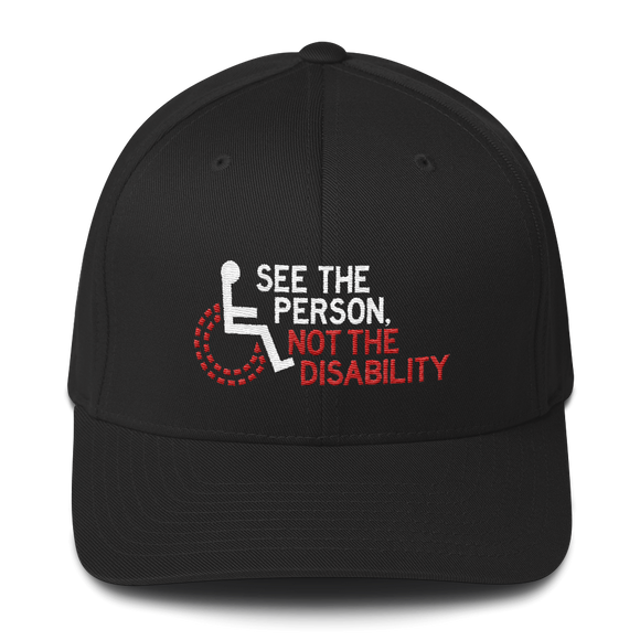 See the Person, Not the Disability (Structured Twill Cap)
