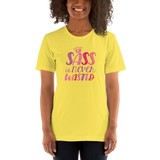 Sass is Never Wasted (Shirt) Pink Colors