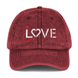 LOVE (for the Special Needs Community) Vintage Cotton Twill Cap