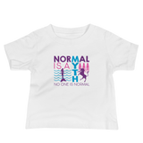 Normal is a Myth (Mermaid & Unicorn) Girl's Baby Shirt