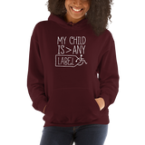 My Child is Greater than Any Label (Special Needs Parent Hoodie) Dark Colors