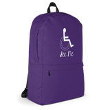 See Me (Not My Disability) Purple Backpack