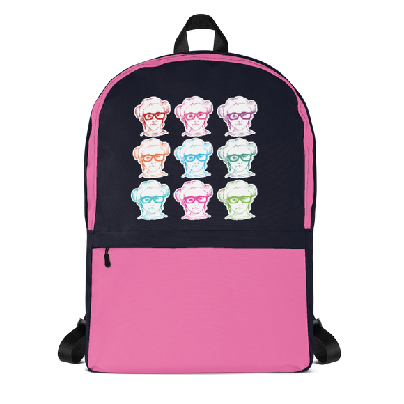 school backpack 9 Different Colored Faces of Sammi Haney Esperanza Netflix Raising Dion fan sassy wheelchair pink glasses disability osteogenesis imperfecta OI