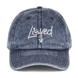 Loved Arrow (I am Loved) Vintage Cotton Twill Cap