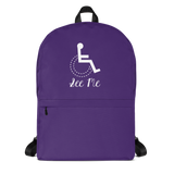 school backpack see me not my disability wheelchair inclusion inclusivity acceptance special needs awareness diversity