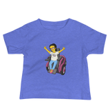 Esperanza From Raising Dion (Yellow Cartoon) D.D.N.E.L. Baby Shirt