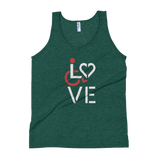 LOVE (for the Special Needs Community) Tank Top Stacked Design 1 of 3