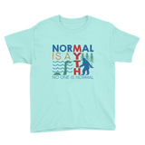 Normal is a Myth (Bigfoot & Loch Ness Monster) Youth Shirt