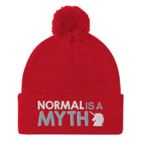 Normal is a Myth (Unicorn) Pom-Pom Beanie
