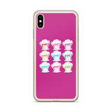 Sammi Haney (Esperanza - Raising Dion) 9 Faces iPhone Case