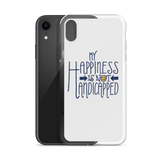 My Happiness is Not Handicapped (iPhone Case)