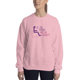 sweatshirt see the person not the disability wheelchair inclusion inclusivity acceptance special needs awareness diversity