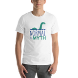 shirt normal is a myth loch ness monster lochness peer pressure popularity disability special needs awareness inclusivity acceptance activism